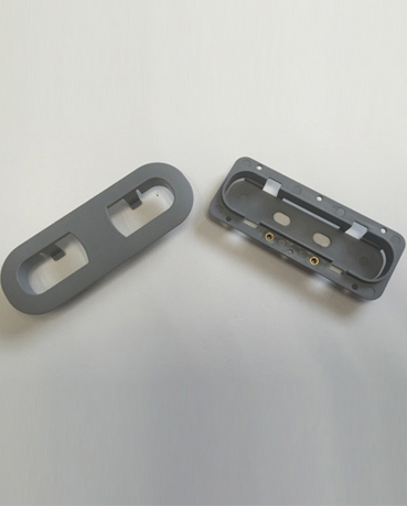 Grey Injection Molded Part